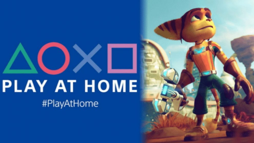 Ratchet & Clank Play At Home