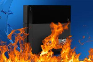 PS4 incendio