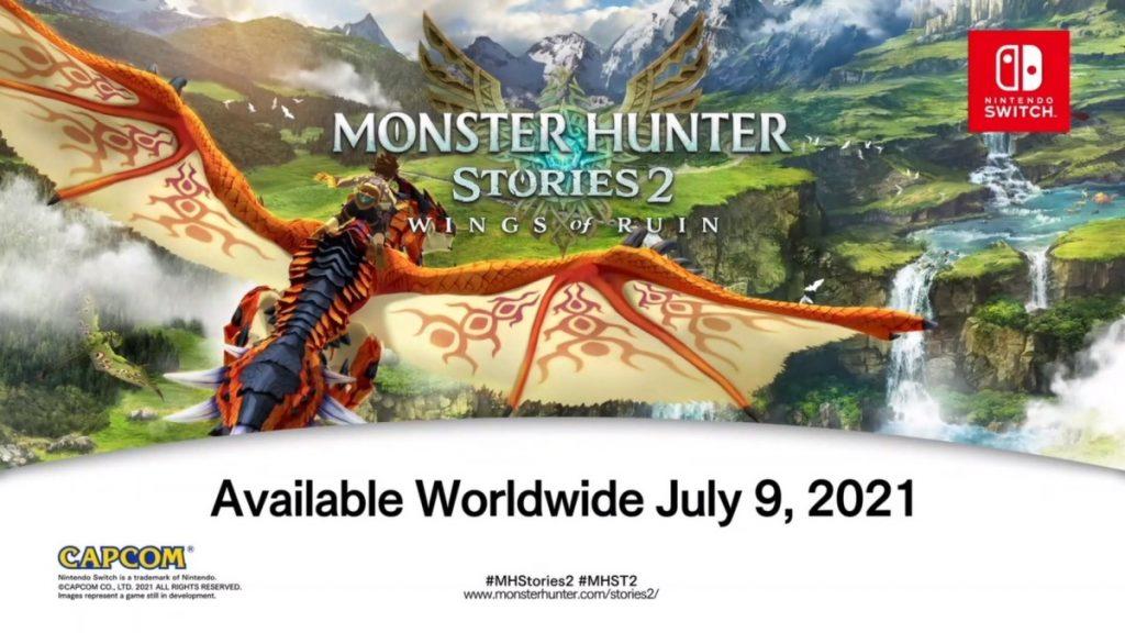 Monster Hunter Stories 2 Data d'uscita