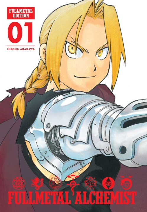 fullmetal alchemist - planet manga