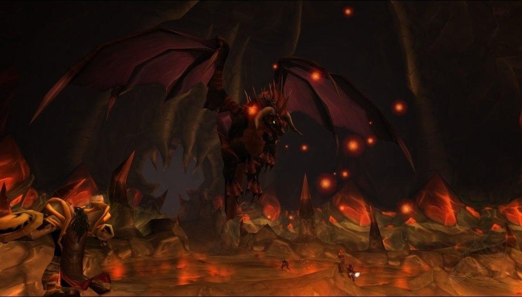 world of warcraft onyxia raid boss