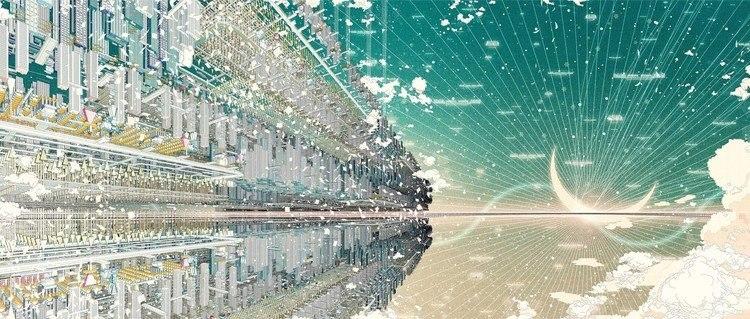 Mondo virtuale 'U' di Belle di Mamoru Hosoda