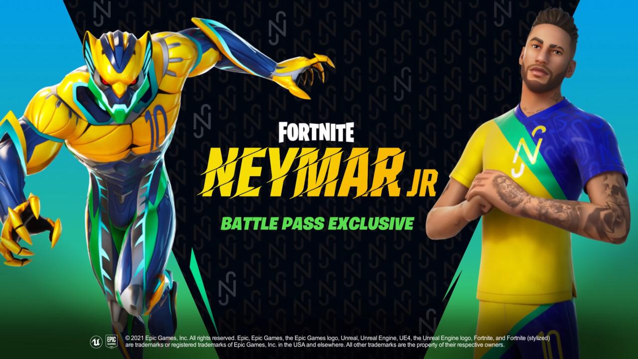 Fortnite Neymar jr skin