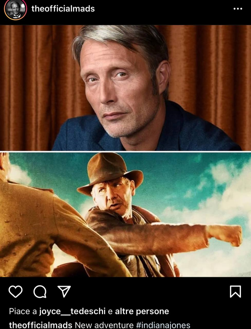 Indiana Jones Mad Mikkelsen