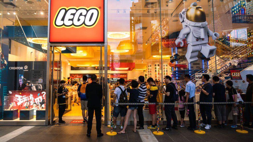 Lego negozio set coda