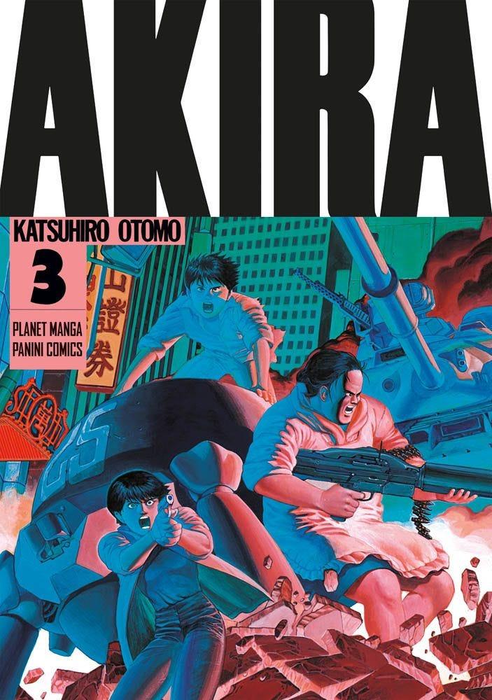 planet manga - akira 3