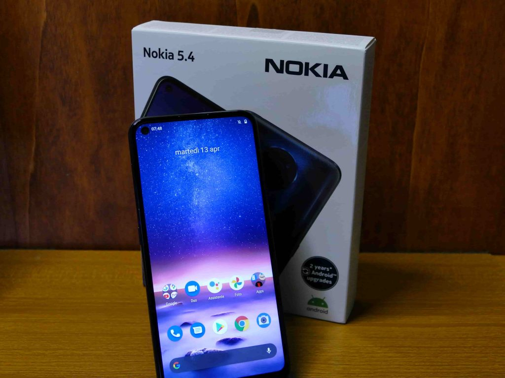 Nokia 5.4 fotografia