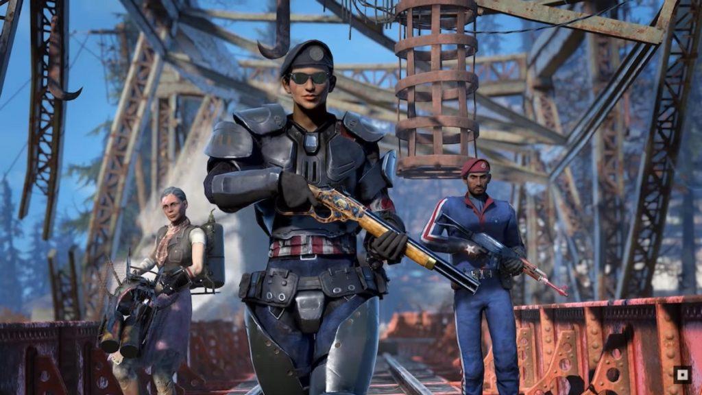 Fallout 76 screenshot nuovo aggiornamento