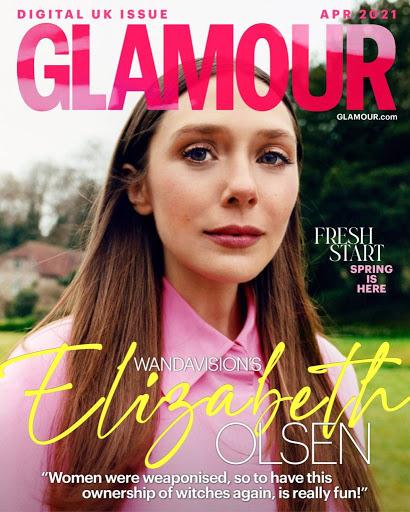 elisabeth olsen per glamour uk