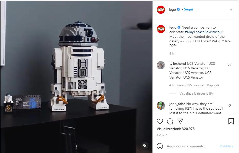 Lego Star Wars-R2D2