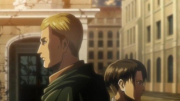 Attacco dei Giganti, Erwin e Levi