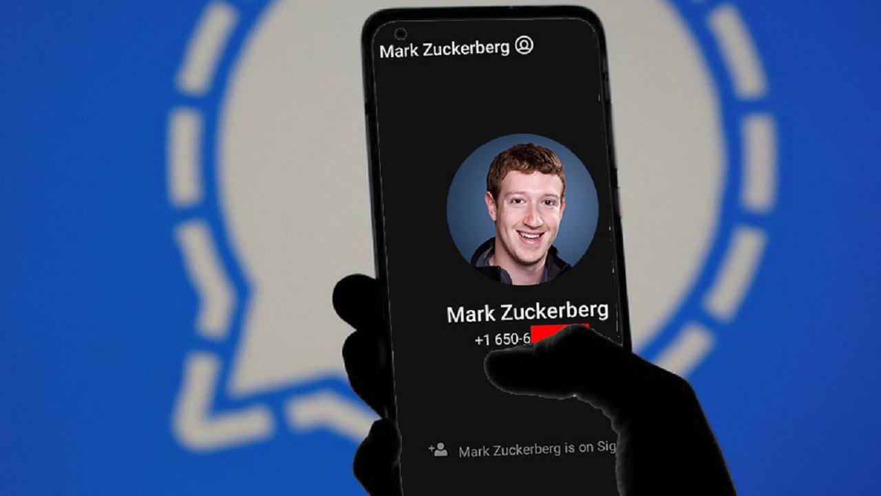 mark zuckerberg signal hacker