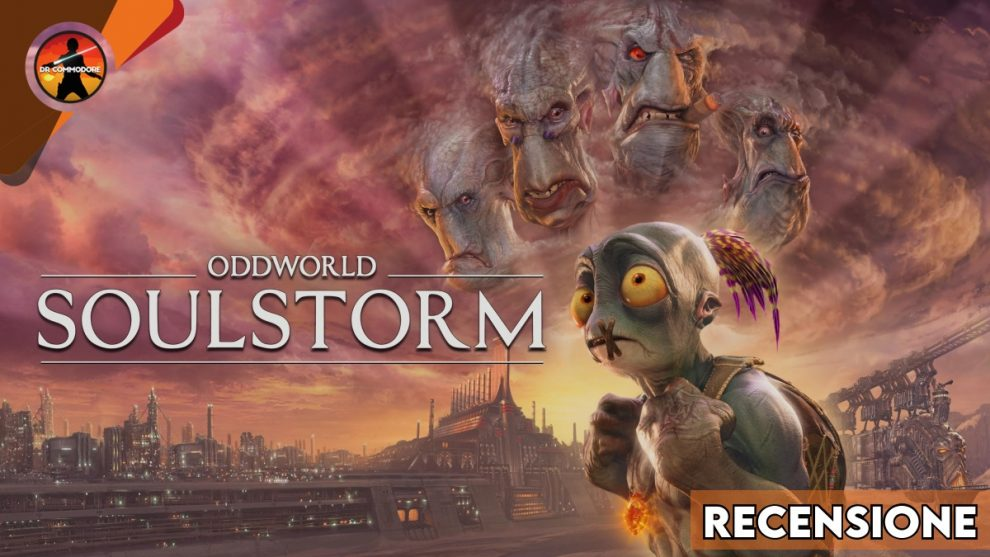Oddworld Soulstorm, copertina