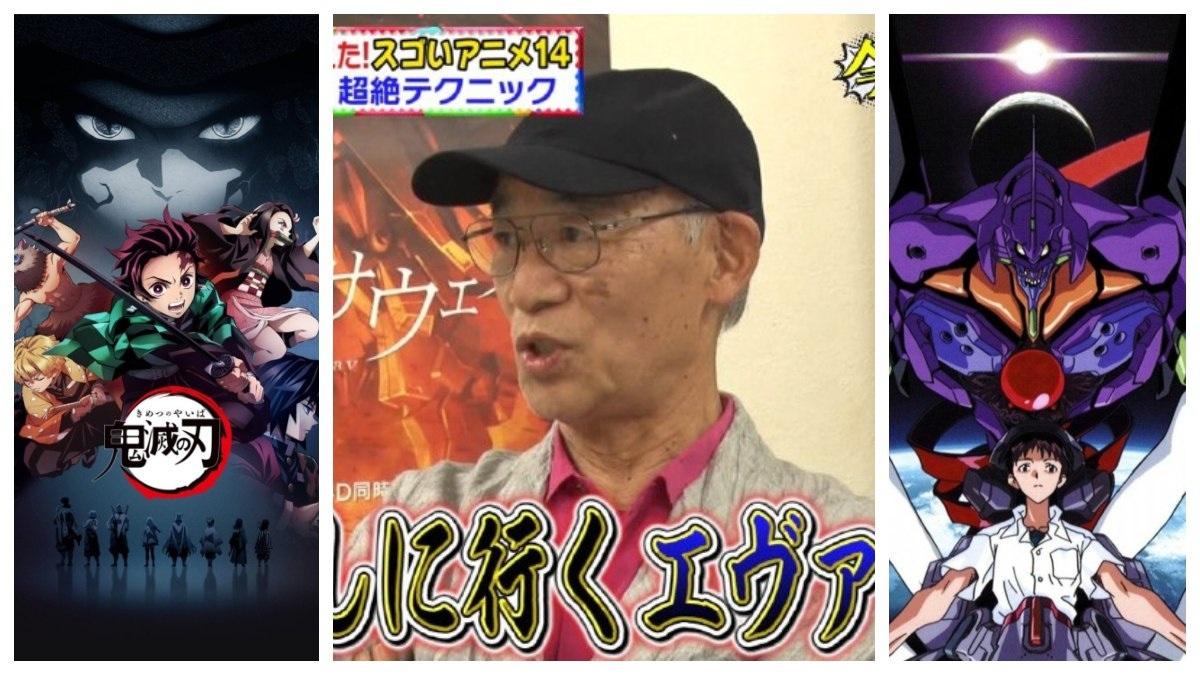 "Il padre di Gundam dichiara: ""Schiaccerò Demon Slayer. Distruggerò Evangelion"""