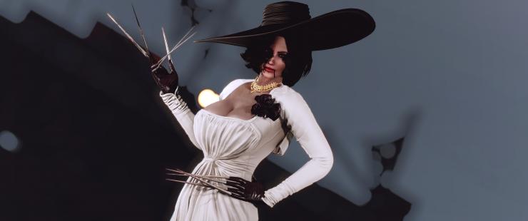 Lady Dimitrescu in Fallout 4