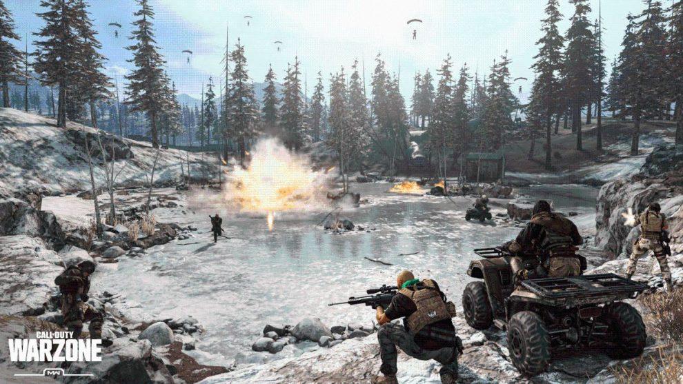 warzone battaglia