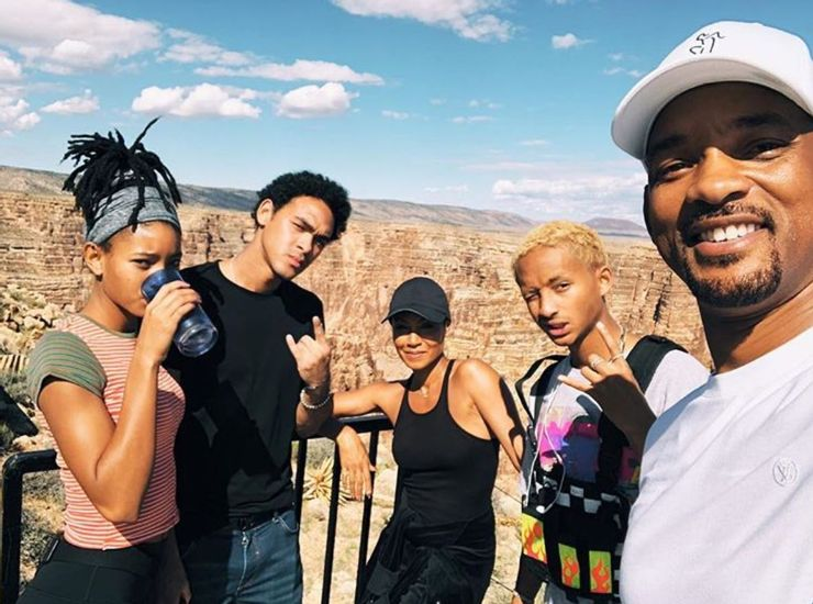 willow smith and her family