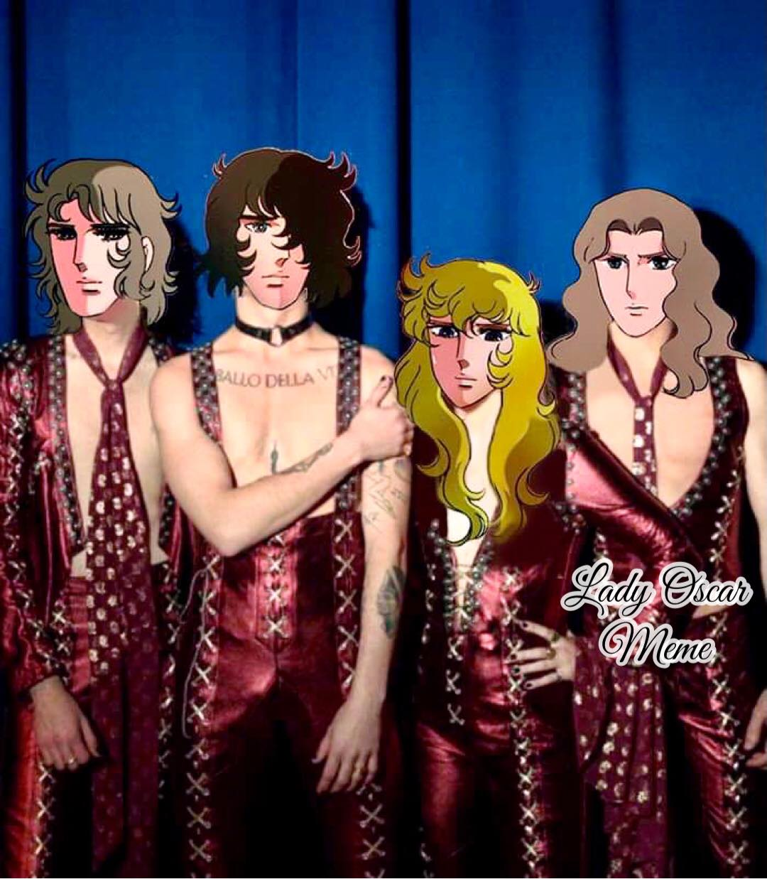 maneskin eurovision lady oscar