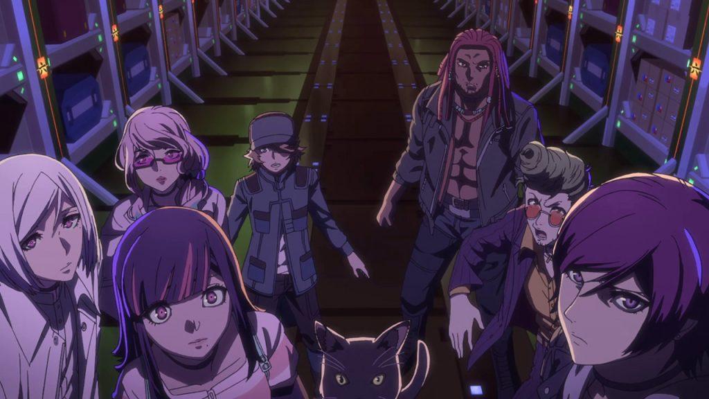 akudama drive netflix giugno 2021 anime
