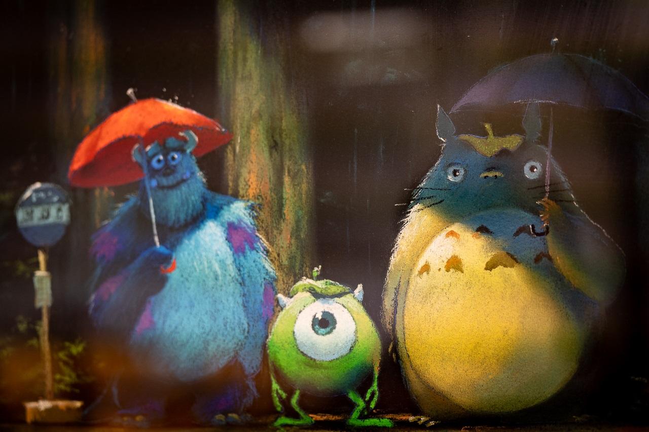 Studio Ghibli,Pixar