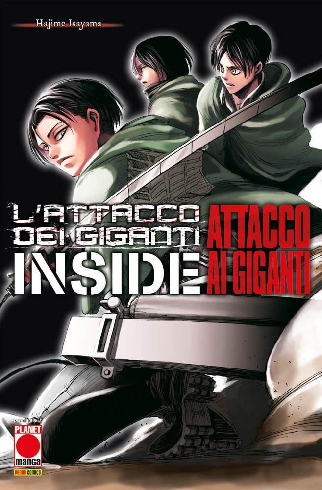 inside attacco dei giganti - planet manga - attacco dei giganti - attack on titan
