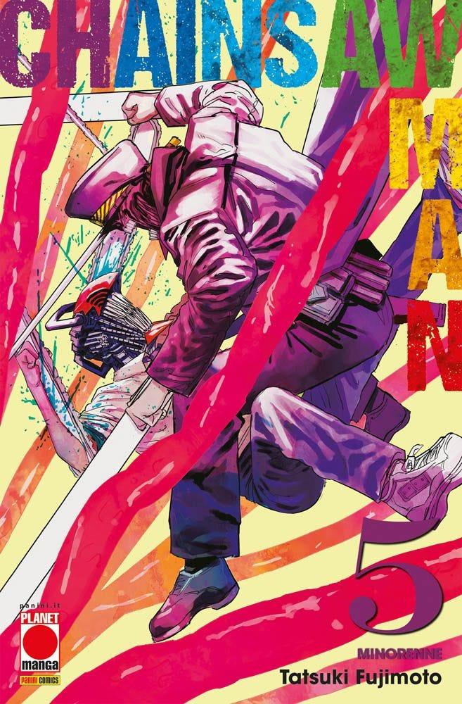 planet manga - panini comics - chainsaw man