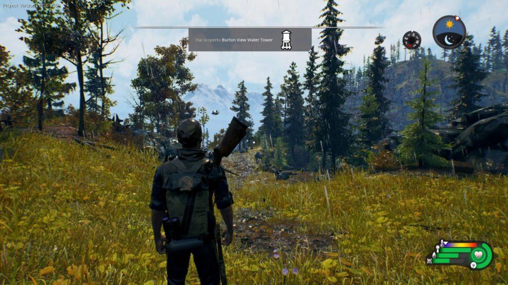Altro screenshot di gioco di Open Country