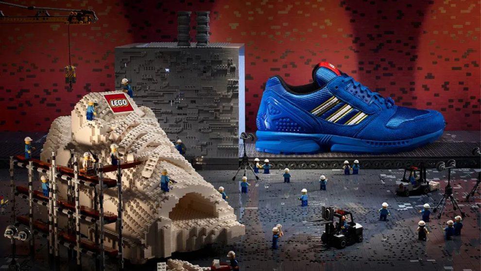 Scarpe Lego Adidas ZX 8000 Bricks