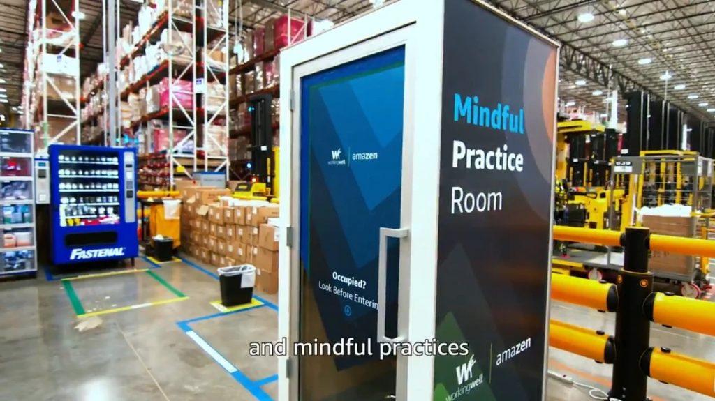 Amazon Mindful practice room