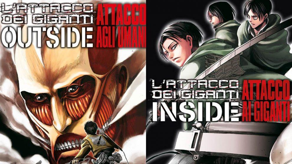 outside - inside - attacco dei giganti - attack on titan
