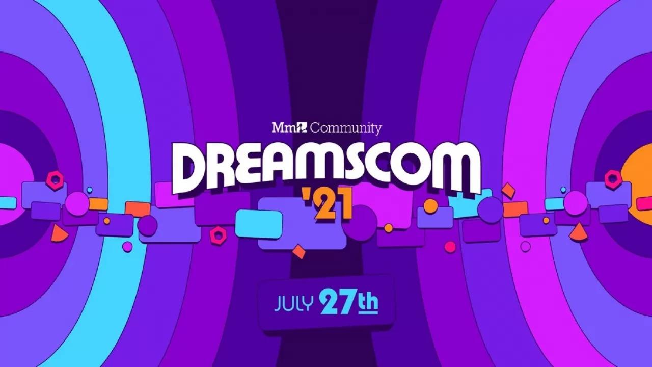 Logo della dreamscom 2021