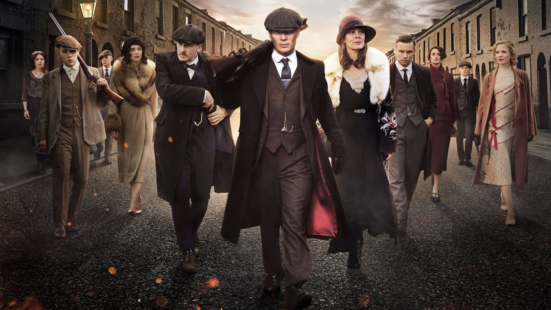 famiglia shelby Peaky Blinders