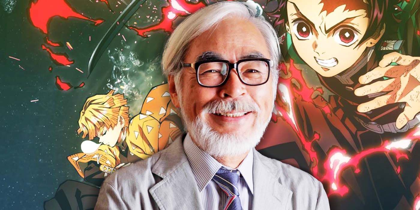 hayao miyazaki - demon slayer - studio ghibli