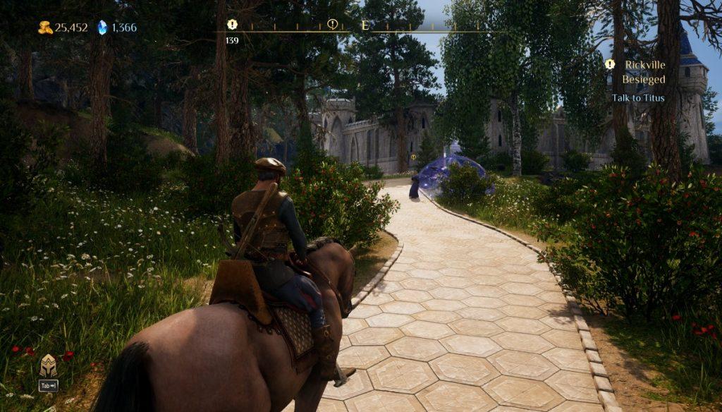 King's Bounty II screenshot terza persona