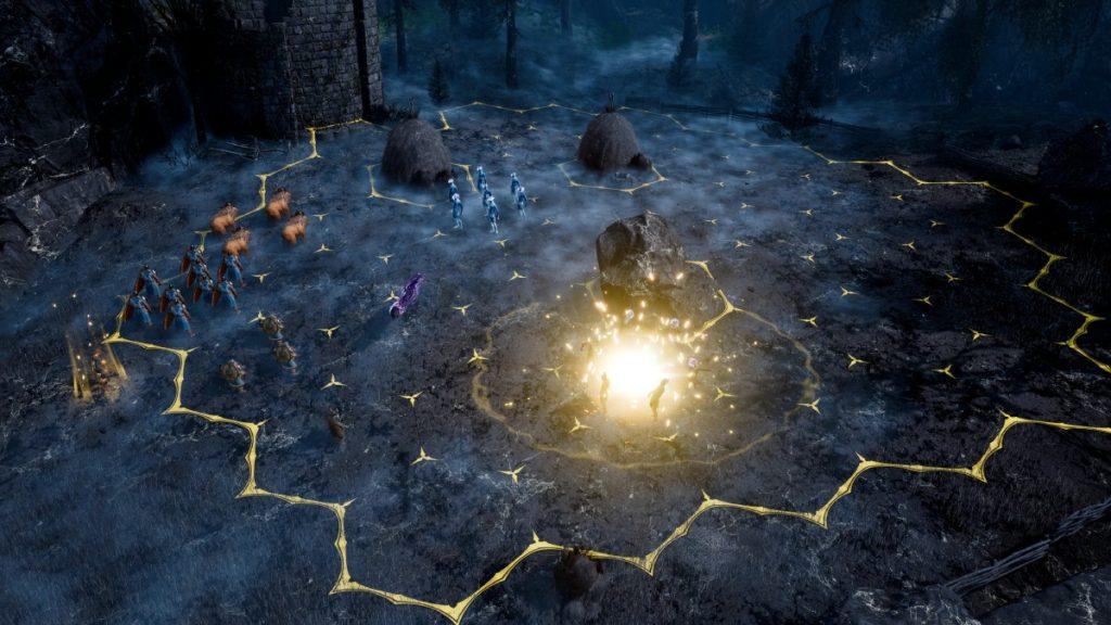 King's bounty II screenshot fase di combattimento