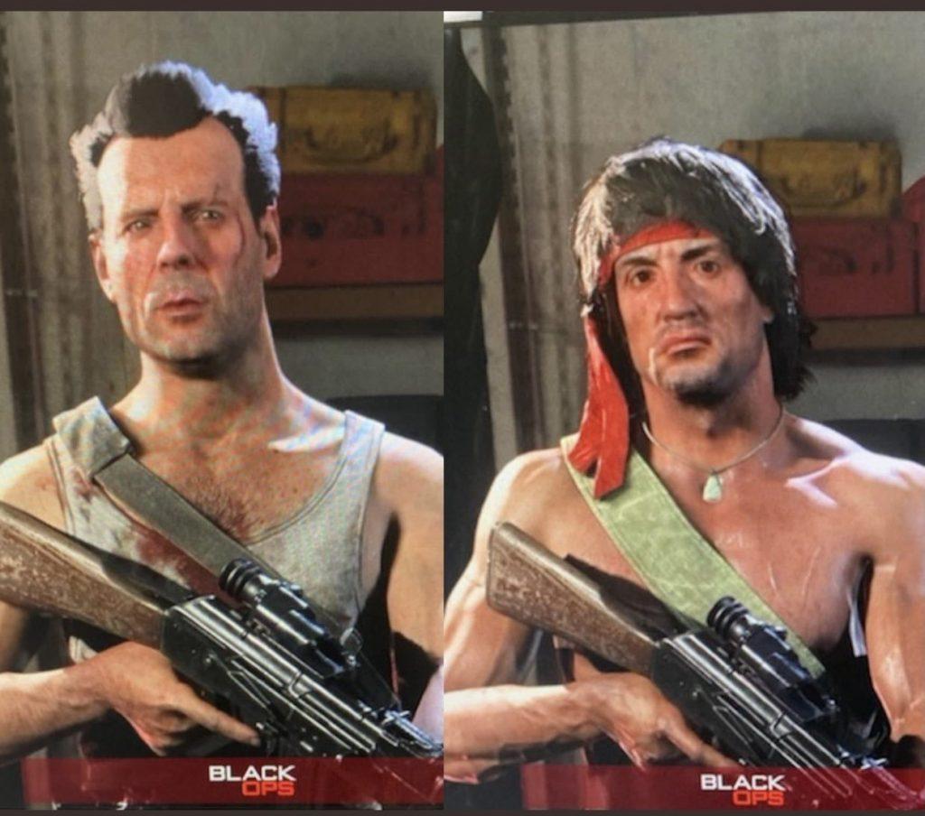 Leak aspetto delle skin di Rambo e McClane su Warzone