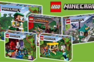 LEGO Minecraft Estate 2021