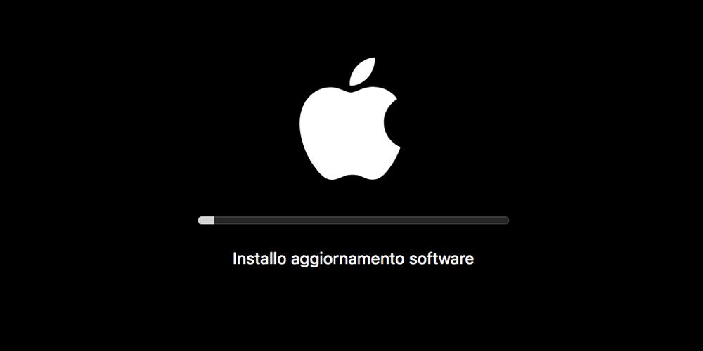 macos apple aggiornamento