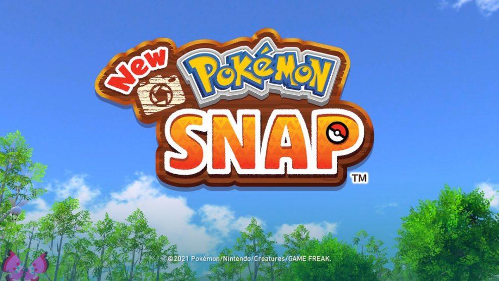 new pokemon snap logo