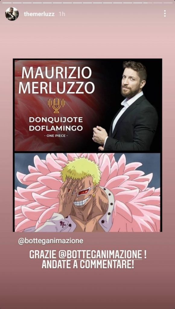 Maurizio Merluzzo, One Piece