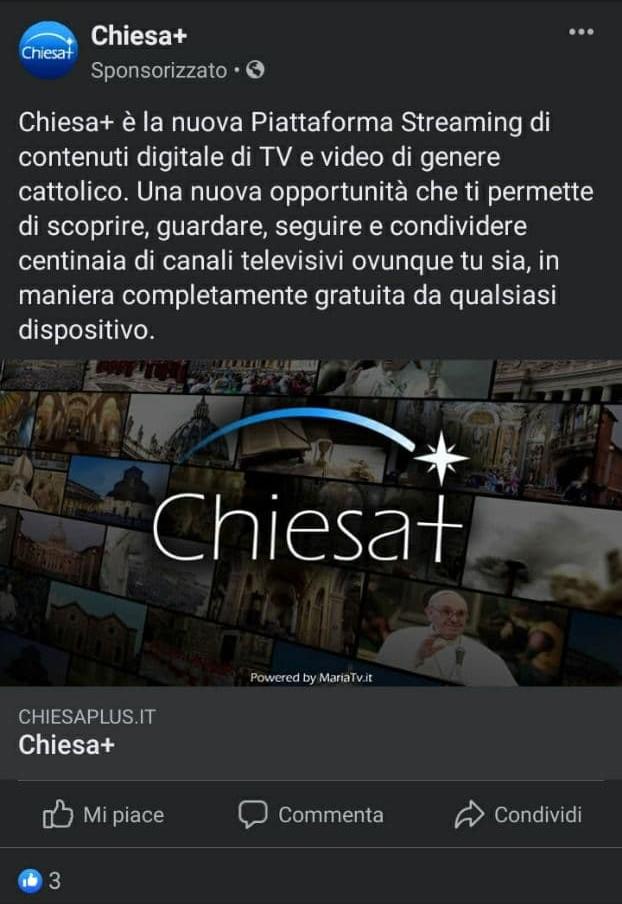Chiesa+ spot