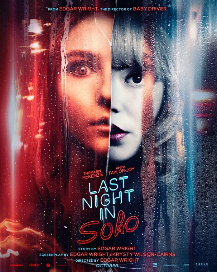 Last night in Soho poster film