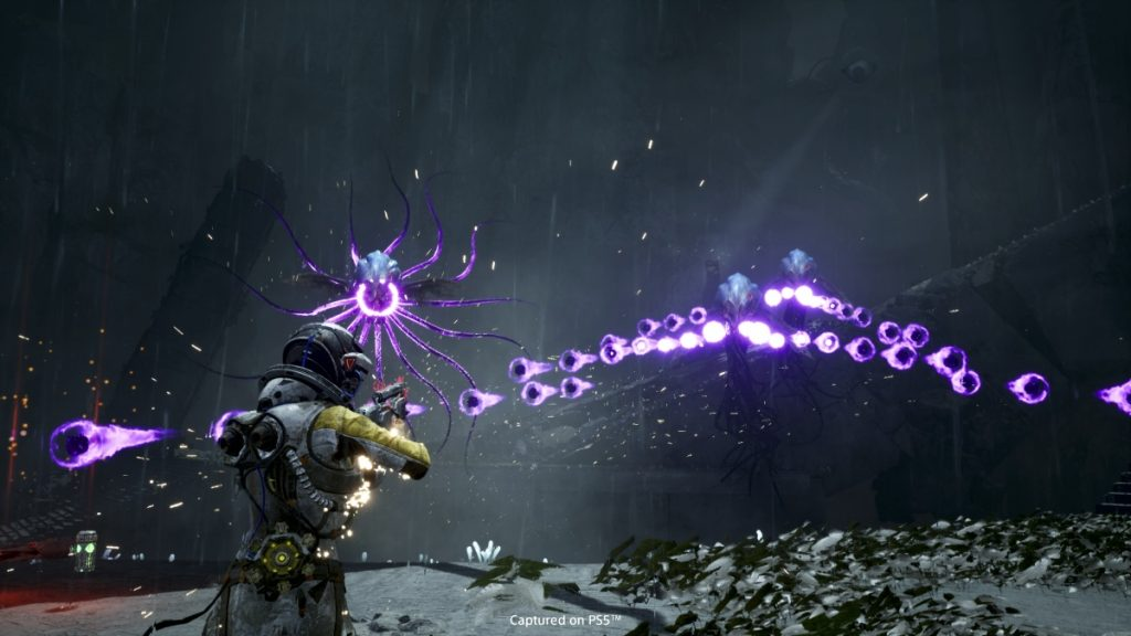 Screenshot di Returnal