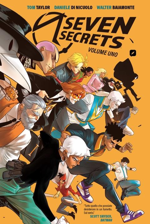 seven secrets - j-pop - edizioni bd