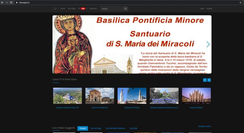 Chiesa+ screenshot