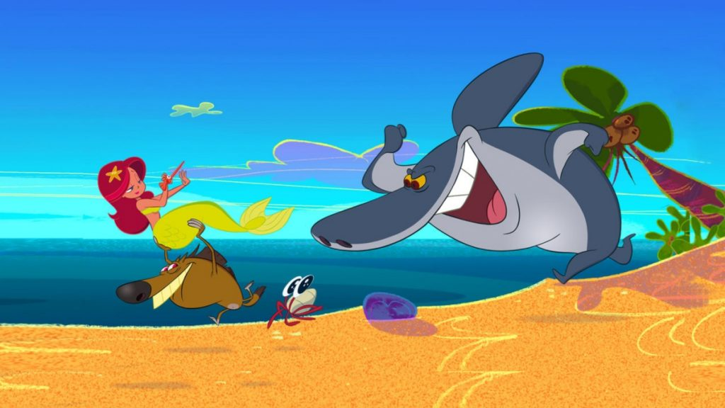 Zig e Sharko, di Olivier Jean-Marie