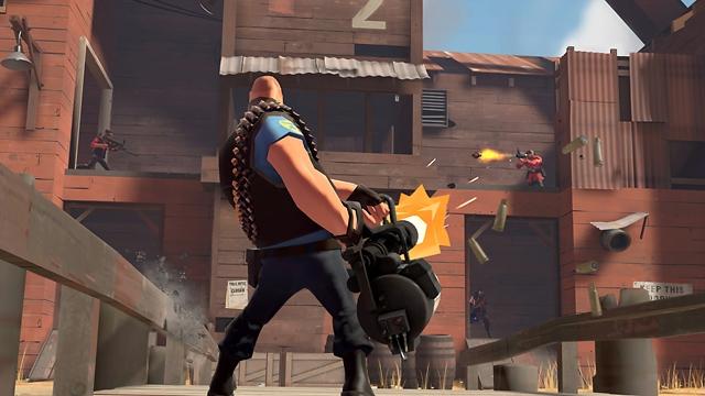 Screenshot di gioco di team fortress 2