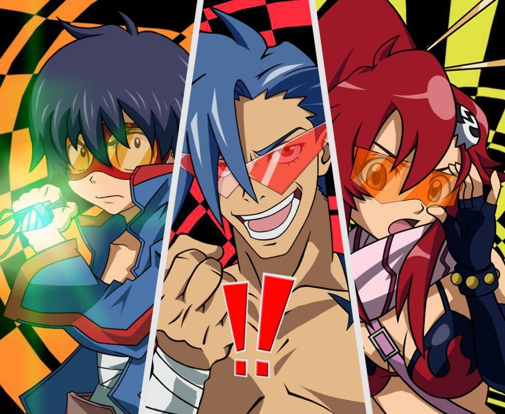 Gurrenn Lagann anime videogiochi