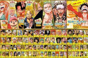 Top 10 personaggi One Piece