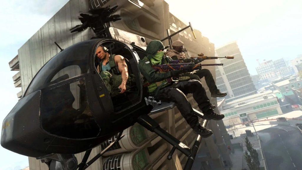 Warzone elicottero